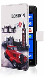 Nokia Lumia 625 London C�zdanl� K�l�f
