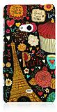 Nokia Lumia 625 Paris Sert Mat Rubber K�l�f