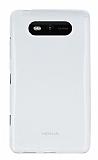 Nokia Lumia 820 �effaf Silikon K�l�f