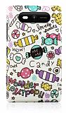 Nokia Lumia 820 Candy Sert Mat Rubber K�l�f