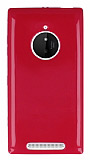 Nokia Lumia 830 Pembe Silikon Kılıf