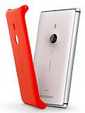 Nokia Lumia 925 CC-3065 Orjinal Wirelessla Telefonu Şarj Eden Kırmızı Kılıf