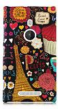 Nokia Lumia 925 Paris Sert Mat Rubber K�l�f