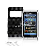 Nokia N8 Siyah Delikli K�l�f