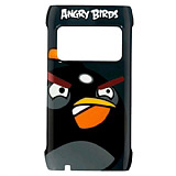 Nokia N8 Orjinal Angry Birds Siyah Sert Rubber K�l�f