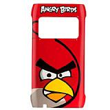 Nokia N8 Orjinal Angry Birds K�rm�z� Sert Rubber K�l�f