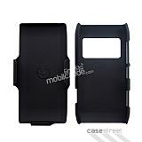 Nokia N8 Standl� Siyah Rubber K�l�f