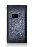 Capdase Nokia N9 Kapakl� Siyah Deri K�l�f
