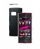 Nokia X6 Siyah Delikli K�l�f