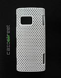 Nokia X6 Beyaz Delikli K�l�f