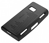 Nokia X6 Orjinal Siyah Silikon K�l�f