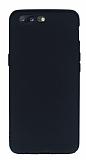 OnePlus 5 Mat Siyah Silikon Kılıf