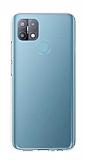 Oppo A15s Ultra İnce Şeffaf Silikon Kılıf