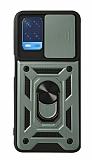 Eiroo Magnet Lens Oppo A54 Ultra Koruma Yeşil Kılıf