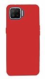 Oppo A73 Mat Kırmızı Silikon Kılıf