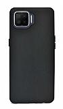 Oppo A73 Mat Siyah Silikon Kılıf
