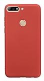 Oppo AX7 / Oppo A5s Mat Kırmızı Silikon Kılıf