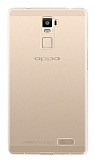 Oppo R7 Plus Şeffaf Kristal Kılıf
