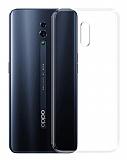 Oppo Reno Ultra İnce Şeffaf Silikon Kılıf
