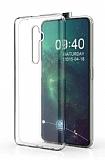 Oppo Reno2 Ultra İnce Şeffaf Silikon Kılıf