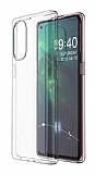 Oppo Reno4 Pro Ultra İnce Şeffaf Silikon Kılıf