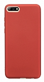 Oppo RX17 Neo Mat Kırmızı Silikon Kılıf