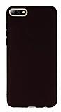 Oppo RX17 Neo Mat Siyah Silikon Kılıf