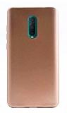 Oppo RX17 Pro Mat Gold Silikon Kılıf