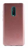 Oppo RX17 Pro Mat Rose Gold Silikon Kılıf