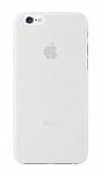 Ozaki O!coat iPhone 6 / 6S 0.3 Jelly Şeffaf Beyaz Kılıf
