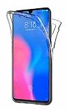 Eiroo Protection Huawei P smart 2021 360 Derece Koruma Şeffaf Silikon Kılıf