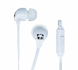 Eiroo Panda Mikrofonlu Kulaki�i Beyaz Kulakl�k