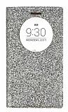 Pinshang LG G4 Pencereli Simli Gold Kılıf