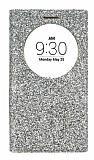 Pinshang LG G4c Pencereli Simli Gold Kılıf