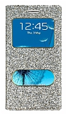 Pinshang Samsung i9300 Galaxy S3 Pencereli Simli Gold Kılıf