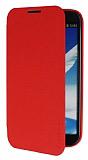 Pipilu Samsung N7100 Galaxy Note 2 Standl� �nce Yan Kapakl� K�rm�z� K�l�f