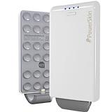 PowerSkin iPhone 5 / 5S / 5C Bataryal� Popn Beyaz Kapak