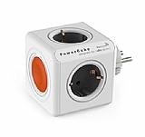 Pratigo Remote PowerCube Beyaz Uzaktan Kumandalı 4lü Topraklı Priz