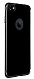Puloka iPhone 6 / 6S Jet Black Silikon Kılıf