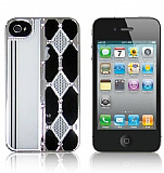 Queen iPhone 4 / iPhone 4S Ekose Ta�l� K�l�f