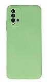 Xiaomi Redmi 9T Kamera Korumalı Yeşil Silikon Kılıf