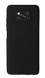 Xiaomi Poco X3 Kamera Korumalı Siyah Silikon Kılıf
