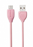 Remax Lesu USB Type-C Pembe Data Kablosu
