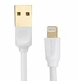 Remax Lightning Beyaz Data Kablosu