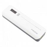 Remax Proda 10000 mAh Dijital G�stergeli Powerbank Beyaz Yedek Batarya