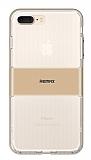 Remax Travel Hybrid iPhone 7 Plus Ultra Koruma Gold Kılıf