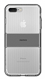 Remax Travel Hybrid iPhone 7 Plus Ultra Koruma Dark Silver Kılıf