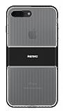 Remax Travel Hybrid iPhone 7 Plus Ultra Koruma Siyah Kılıf