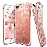 Ringke Air Prism 3D iPhone 7 Plus Elmas Yansıması Rose Gold Kılıf