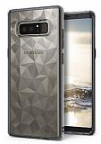 Ringke Air Prism 3D Samsung Galaxy Note 8 Elmas Yansıması Smoke Black Kılıf